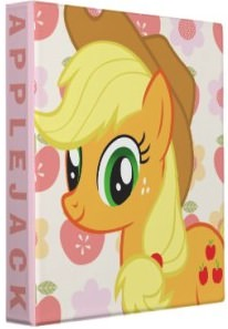 My Little Pony AppleJack Binder