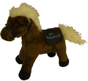 Parks And Recreation Li'l Sebastian Plush Horse