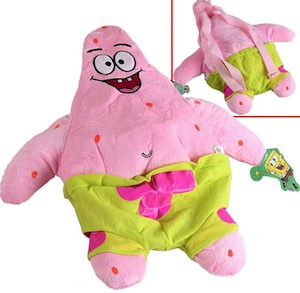 Spongebob Patrick Star Backpack
