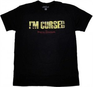 Pirates of the Caribbean On Stranger Tides I'm Cursed Inside Print T-Shirt Sheer