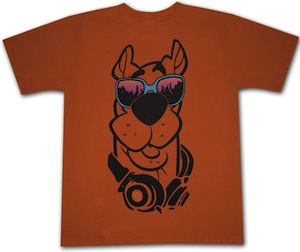 Urban Scooby-Doo adult t-shirt