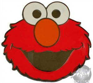 Sesame Street Elmo Head Belt Buckle