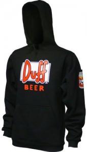 Simpsons Duff Beer Hoodie
