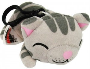 Big Bang Theory Soft Kitty Plush Zipper Pull Flexible Keychain