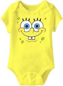 Spongebob Squarepants Baby Bodysuit