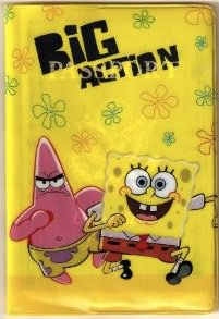 Spongebob Big Action Passport Cover