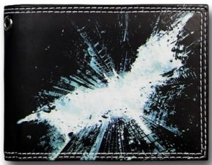 The Dark Knight Rises Cityscape Symbol Wallet