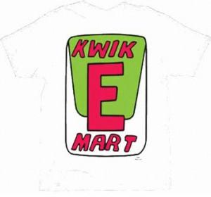 The Simpsons Kwik-E-Mart T-Shirt