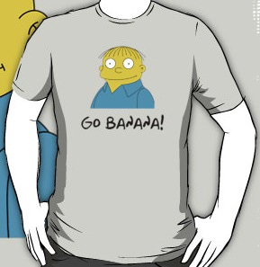The Simpsons Ralphy Go Banana T-Shirt