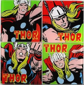 Marvel Thor Coaster Set