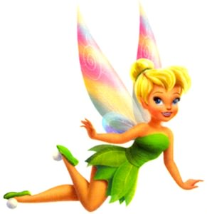 Tinker Bell Temporary Tattoo