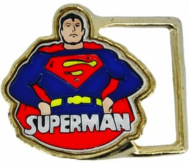 Superman vintage belt buckle