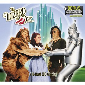 Wizard Of OZ 2013 Wall Calendar