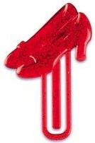 Wizard Of Oz Ruby red Slippers Bookmarks