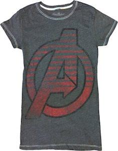Women's Avengers vintage Logo T-Shirt