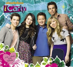 iCarly 2013 wall calendar