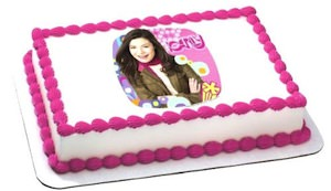 iCarly Edible Cake Topper