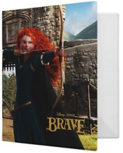 Brave Merida in action Binder by Avery