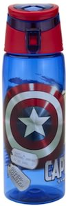 Zak! Designs water Bottle of Captain America