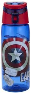 Zak! Designs water Bottle of Captain America