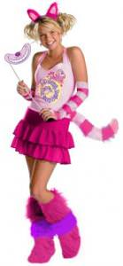 Alice in Wonderland Cheshire Cat Adult Costume