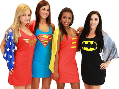 DC-Comics Superhero Dresses