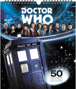 Doctor Who 2013 Wall Calendar