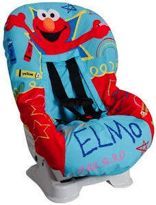Sesame Street Elmo Car Seat Cover