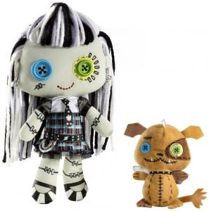 Monster High Frankie Stein And Pet Watzit Plush Dolls