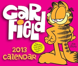 Garfield 2013 desk calendar