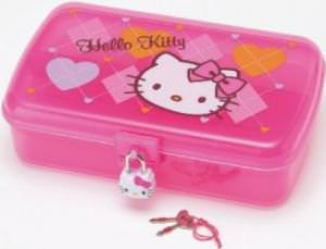 Hello Kitty Case With Lock