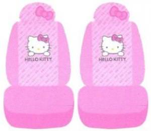 Hello Kitty Pink Seat Covers