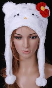 Hello Kitty Plush Hat
