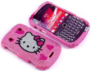 Hello Kitty Rhinestone Blackberry Bold Case
