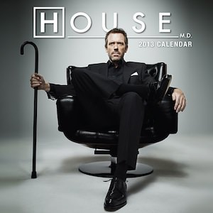 House MD calendar 2013