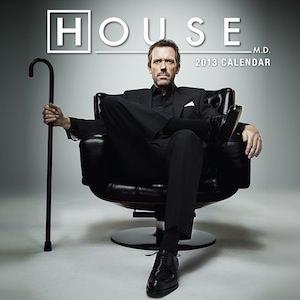 House MD calendar 2013