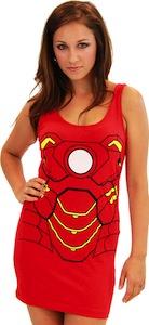 Iron Man tank top dress