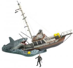Jaws Movie Scene Figure Box Set