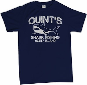 Jaws Quint's Shark Fishing T-Shirt SHARK WEEK
