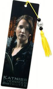 The Hunger Games Katniss Everdeen Bookmark.