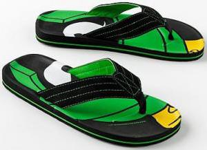 Looney Tunes Marvin The Martian Flip Flops
