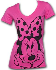 Minnie Mouse Big Smile Junior T-Shirt