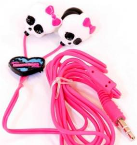 Monster High Skull Earbuds
