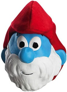 Be papa smurf this Halloween with this Mask