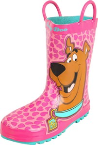 Scooby-Doo pink Rain Boots