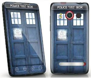 Tardis HTC Evo 4G Decal Skin