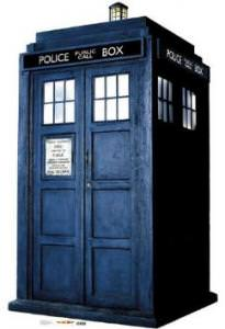 Doctor Who Tardis Lifesize Standup Poster