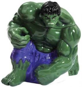 Marvel Comics The Incredible Hulk Cookie Jar