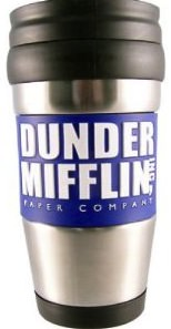 The Office Dunder Mifflin Inc Travel Mug