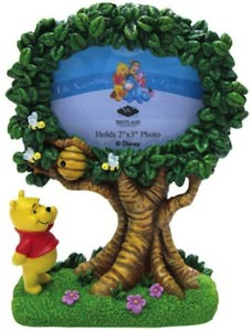 Winnie The Pooh And Tree Photo Frame